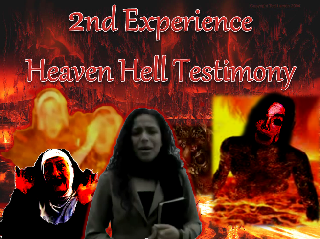 Video (2nd Experience) - Angelica Zambrano (Heaven and Hell Testimony
