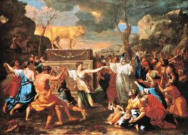 en la antiguedad le quisieron hacer una imagen a Dios en este tiempo la Iglesia catolica hizo lo mismo, muchas imagenes a Dios