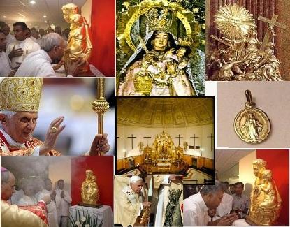 Los idolos de ellos son plata y oro, obra de mano de artifice
