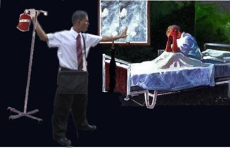 Testigos de Jehova negando transfusion de sangre