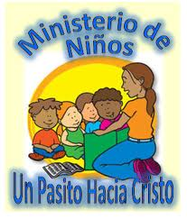 logo del ministerio de niños Un Pasito Hacia Cristo