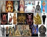 La idolatria es: catolisismos, brujeria, adoracion a santos o dioses